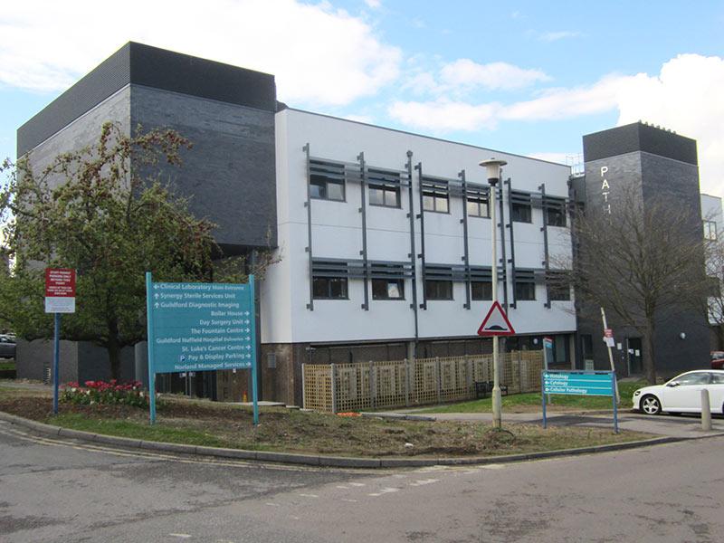 Pathology Laboratory Royal Surrey Hospital Guildford